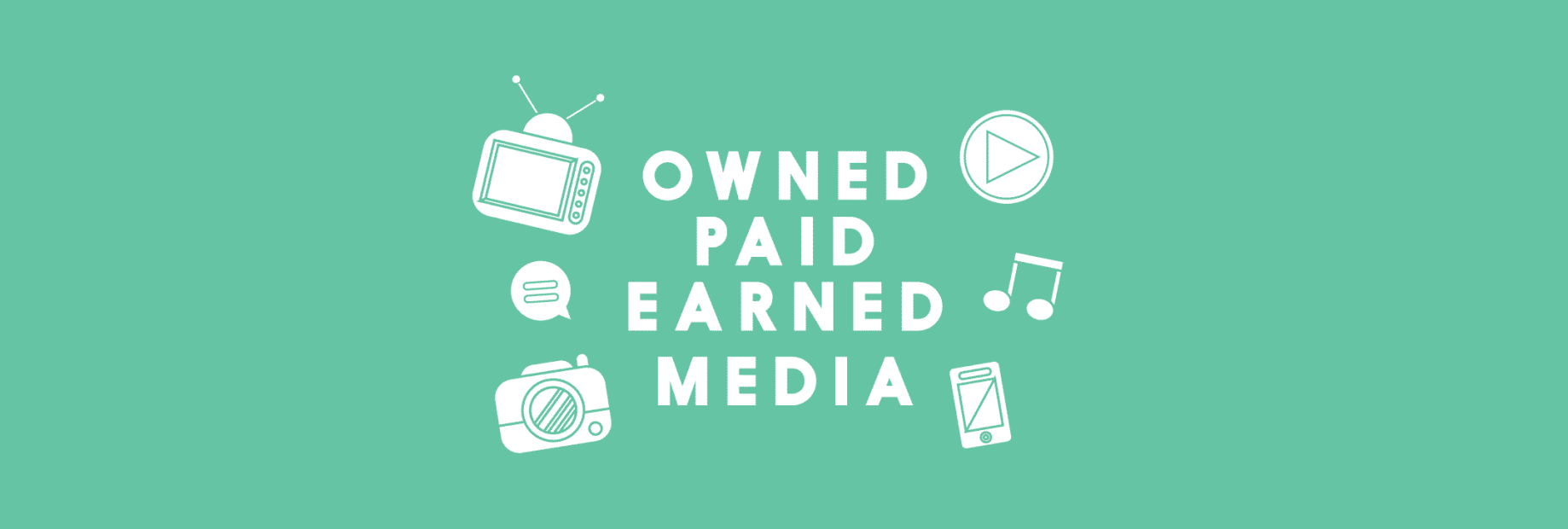 Owned, earned and paid media